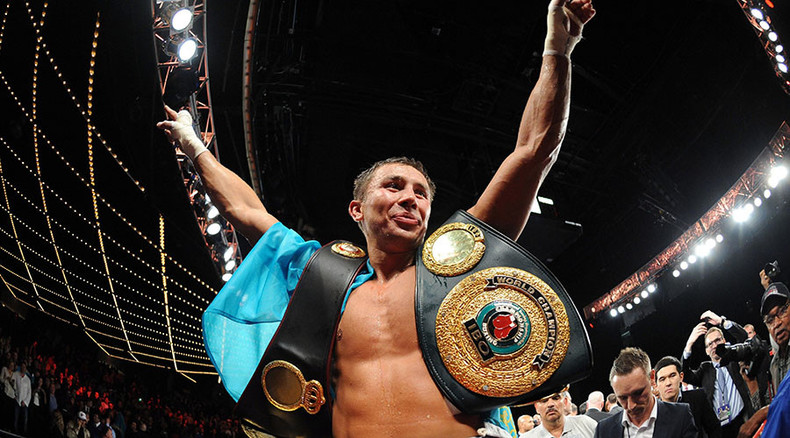 Golovkin saddles up with Cowboys