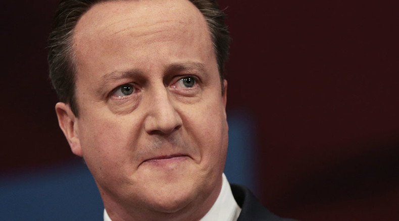 Cameron 'vote of no confidence' petition hits 100k, may be debated in parliament