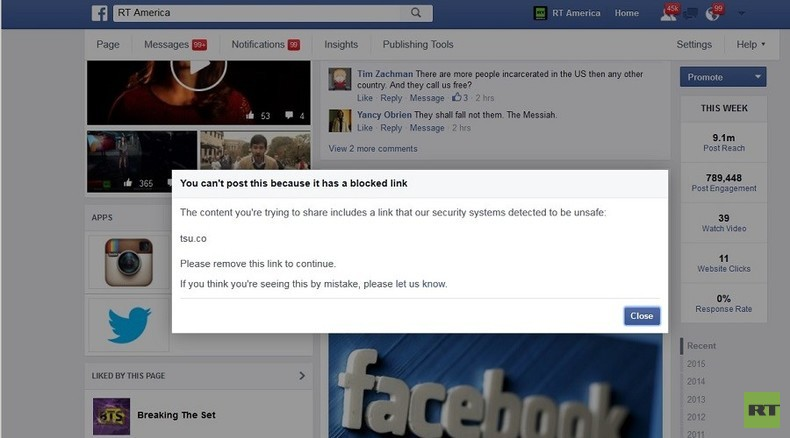 No Tsu for you: Facebook blocks social-networking competitor