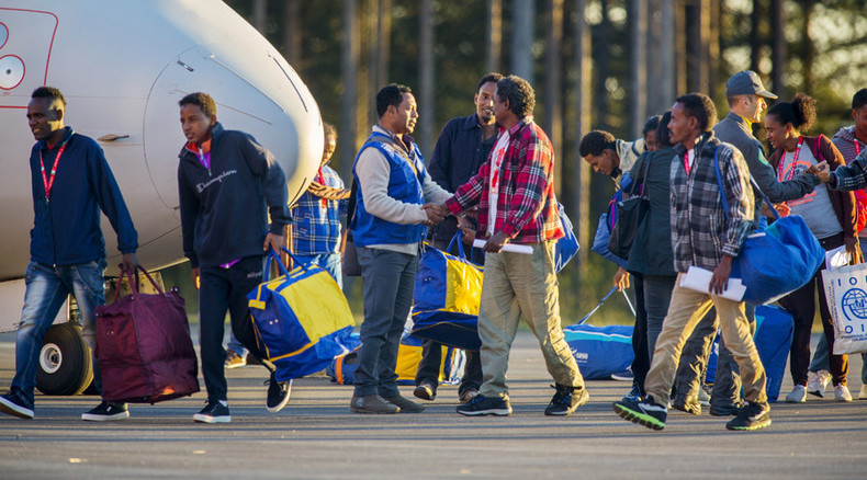 Sweden to refugees: Find a bed or go back to Germany… but don't look for them at IKEA