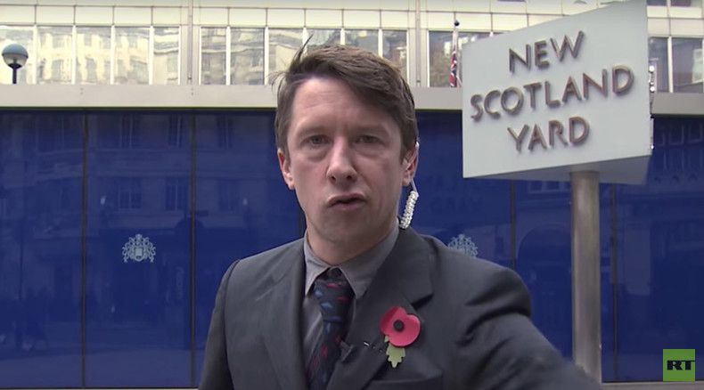 'Who's f***king da police?' Raging Jonathan Pie lashes out at Home Office