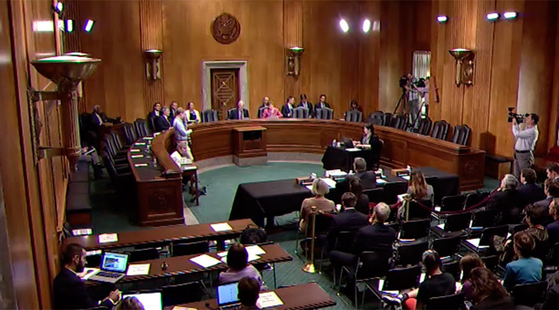 Talking out of both sides of their mouths: Tuesday's bizarre US Senate hearings about RT