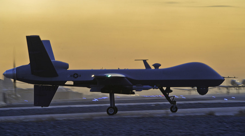 US military drone crashes in Kuwait (PHOTO)