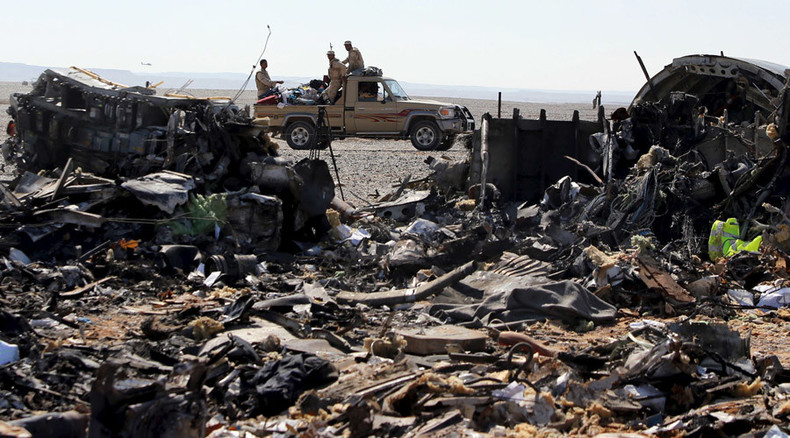 Terror attack among possible causes of Sinai plane crash – Russian PM Medvedev