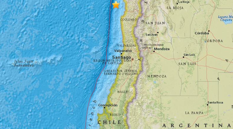 6.9 quake, powerful aftershocks strike off Chilean coast