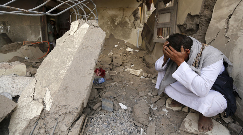 Karl Andree returned to UK, Hammond threatens Saudi arms embargo over Yemen