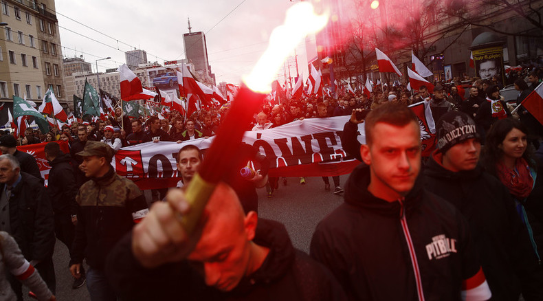 'Communists will be hanging': Nationalist march commemorates Poland's Independence Day