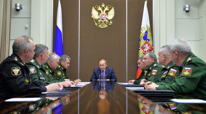 Russia won't be drawn into arms race, but needs to catch up – Putin