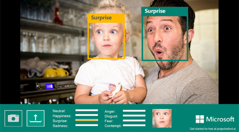 Happily disgusted or sadly angered: Can Microsoft guess what you feel – by your photo?
