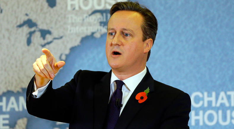 Petition demanding Cameron 'vote of no confidence' passes 170,000 signatures