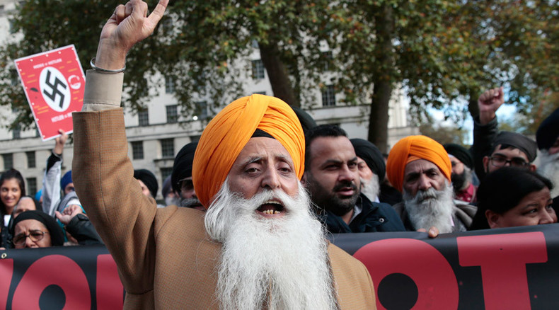 'New Hitler rising in the east': Indian PM met with #ModiNotWelcome protests