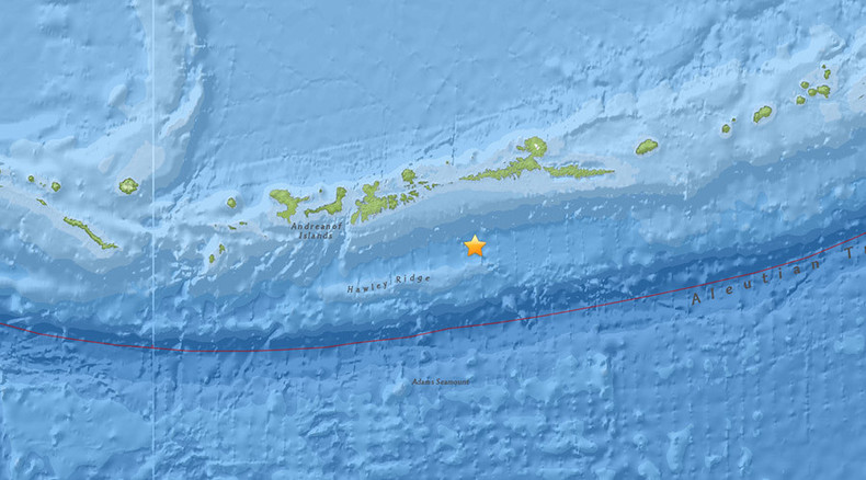 5.1 magnitude earthquake strikes off Alaska coast