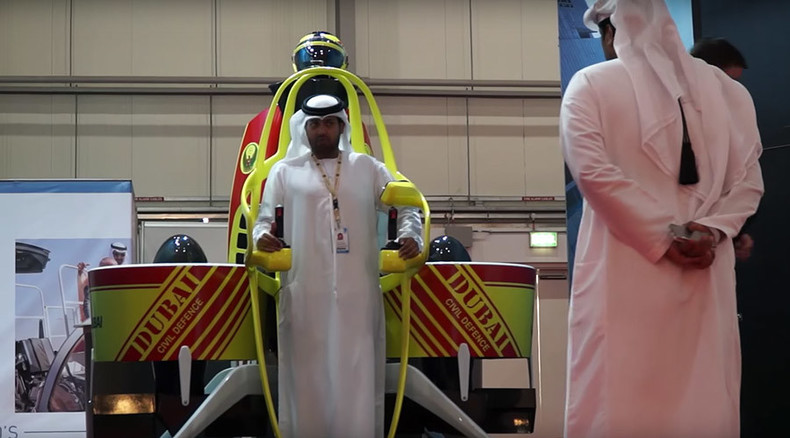 Dubai firefighters will get jetpacks to battle skyscraper blazes