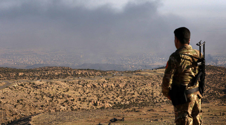 Kurds enter Iraqi Sinjar, raise flag, ISIS 'defeated & running' – reports