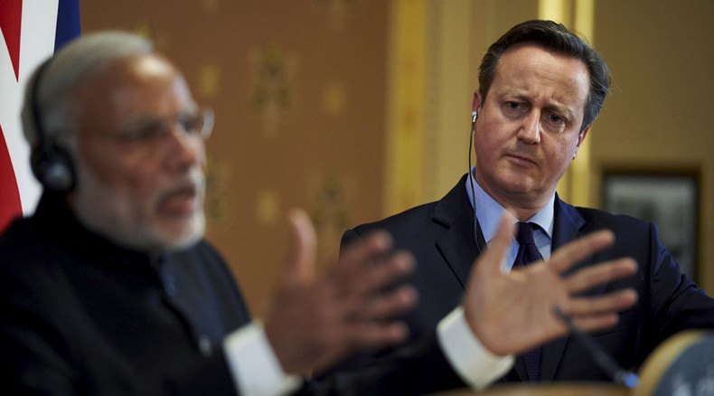 Britain & India sign £9bn trade deals despite human rights protests