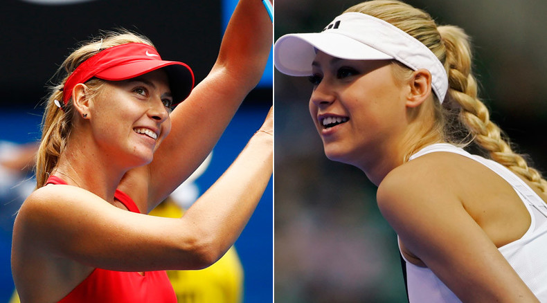 Faultless! How Anna Kournikova & Maria Sharapova changed tennis
