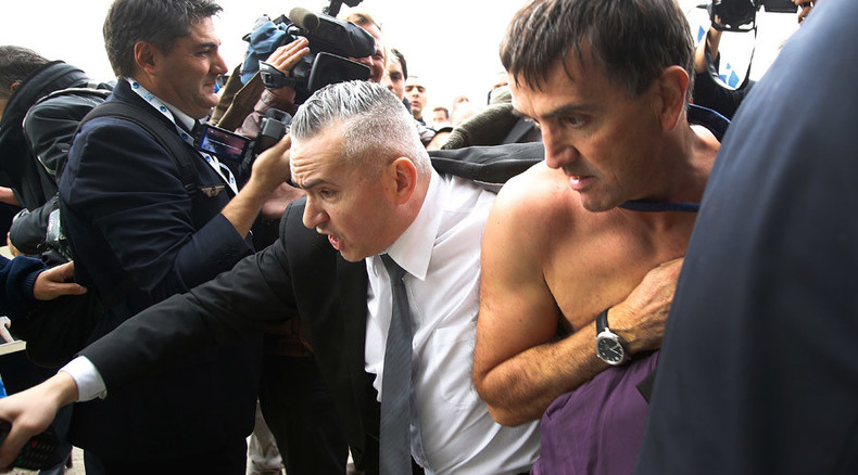 Air France employees fired over clothes-ripping attack on execs