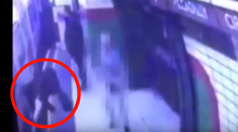 Attempted murder charge for pensioner who 'pushed' woman into Underground train (VIDEO)