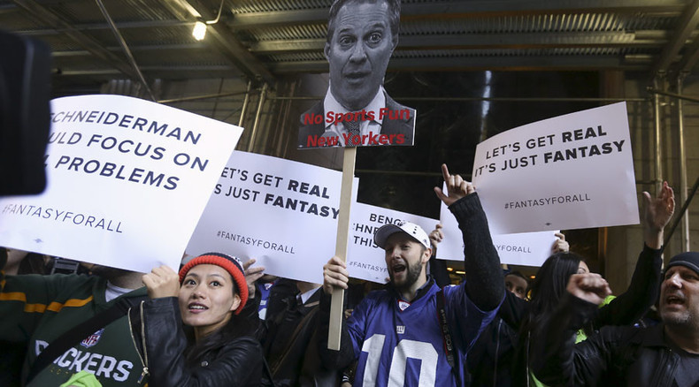 Fantasy sports sites sue New York AG for 'shocking overreach'