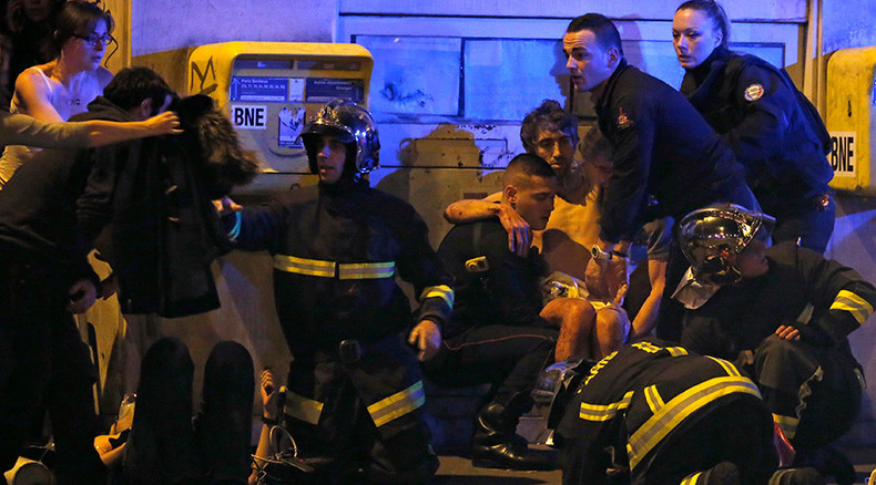 Friday 13th France attack shock: Paris terror mayhem in dramatic images