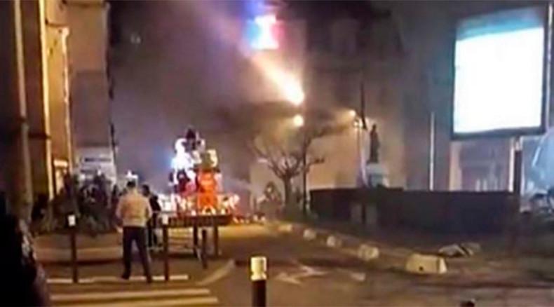 Fire devastates city hall in Paris suburbs (PHOTOS)