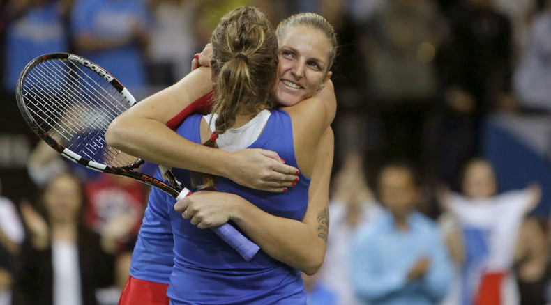 Showdown in Prague: Pliskova leads Czechs to 3-2 Fed Cup thriller against Russia