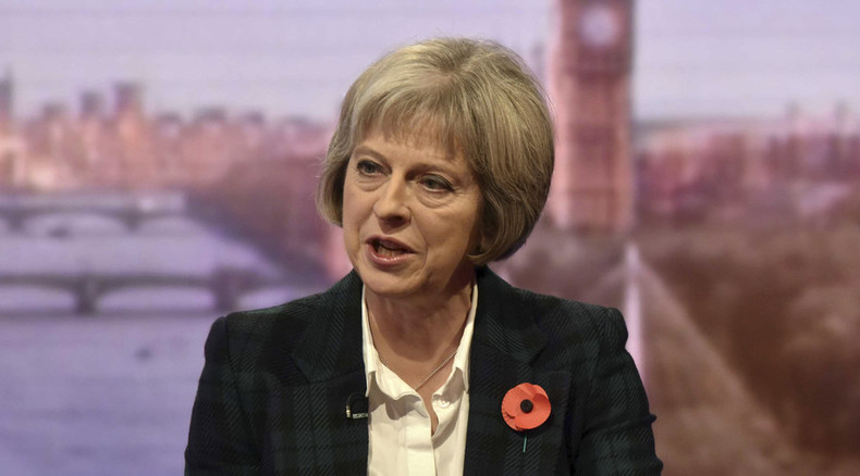 'Crackdown on arms smuggling crucial to combat terrorism' – Theresa May