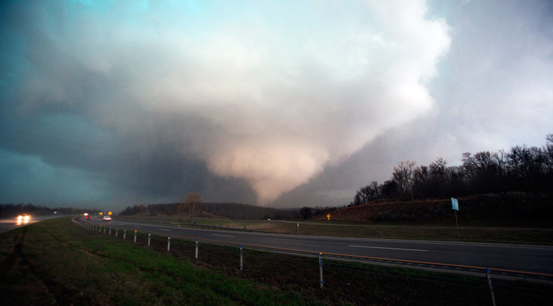 Chemical spill, gas leaks reported after massive tornado levels Texas Halliburton plant