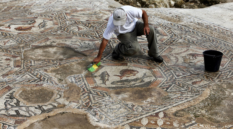 Ancient artistry uncovered: Exquisite 1,700-yo Roman mosaic unveiled in Israel