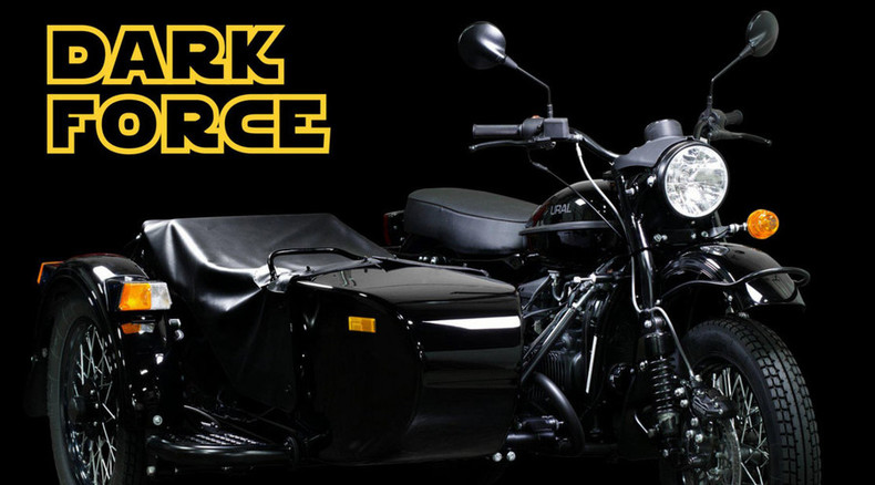 'Come to the Dark Side' – Russia's Ural offers special edition Star Wars motorcycle (PHOTOS)