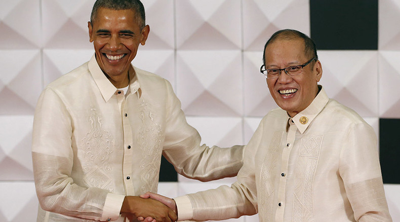 Never mind the constitution: Obama, Aquino love the TPP