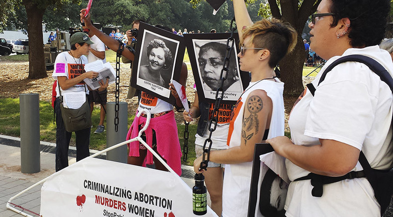 US opinion torn on Texas abortion law as Supreme Court readies to hear arguments