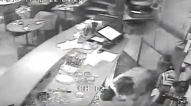 New Paris attack footage shows restaurant spattered with bullets, woman's lucky escape