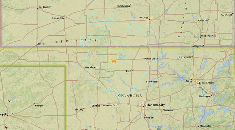 4.7 magnitude earthquake strikes Oklahoma - USGS
