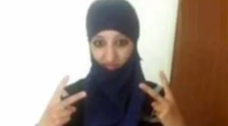 New video of Paris attacks shows moment Europe's 1st female suicide bomber blew herself up