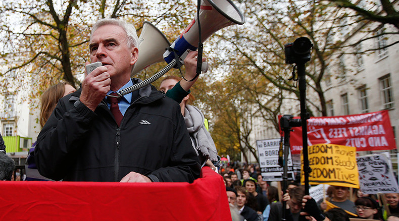 'Socialism with an iPad!' McDonnell unveils Labour's tech-savvy vision
