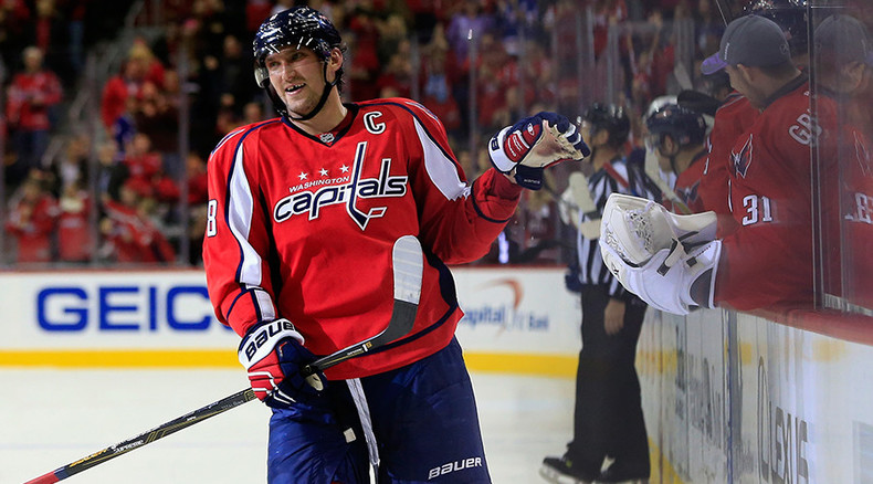 Ovechkin surpasses Fedorov as top Russian scorer in NHL history