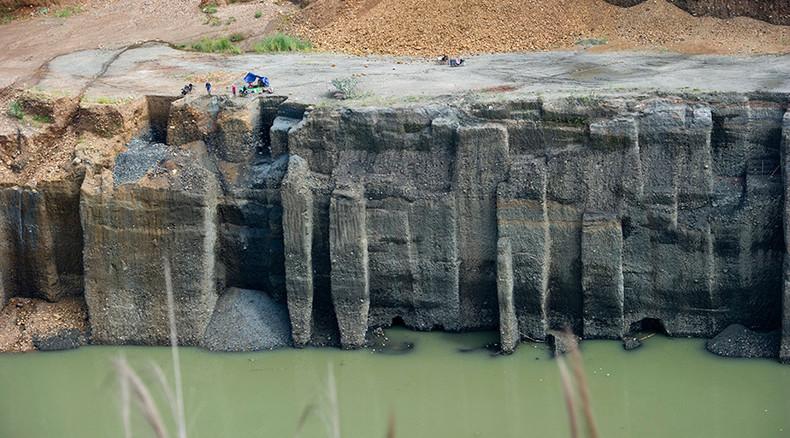 Nearly 100 dead, 100 missing in landslide at Myanmar jade mine