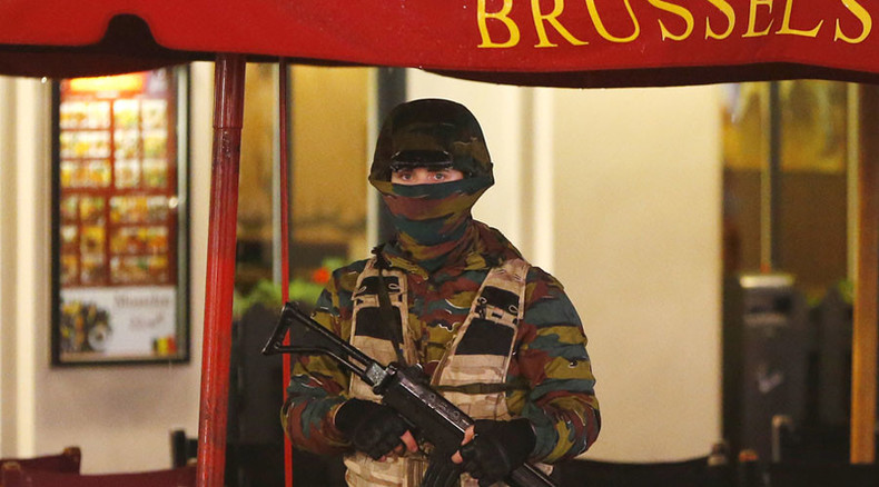 Special operations over in Brussels, 16 arrests and massive troops presence reported (VIDEO)
