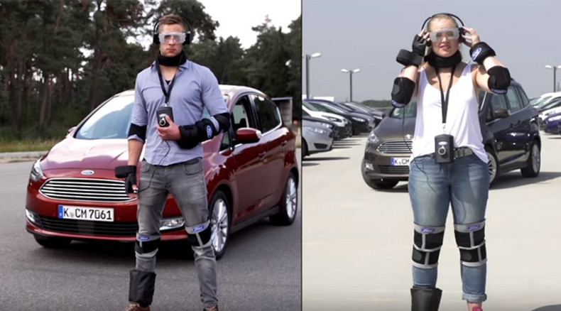 Wheely high: Virtual reality suit simulates effect of narcotics on drivers (VIDEO)