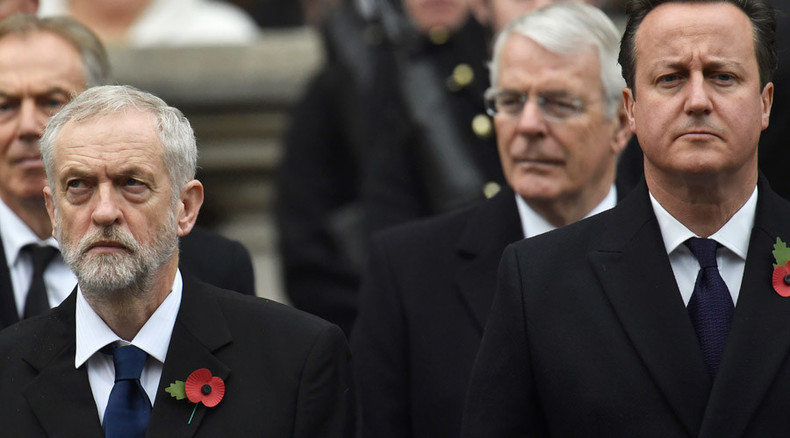 Defense Review: Cameron & Corbyn clash over security measures after Paris attacks