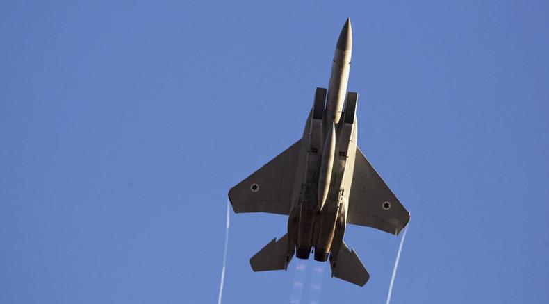 Israeli jets strike Gaza in response to rocket fire