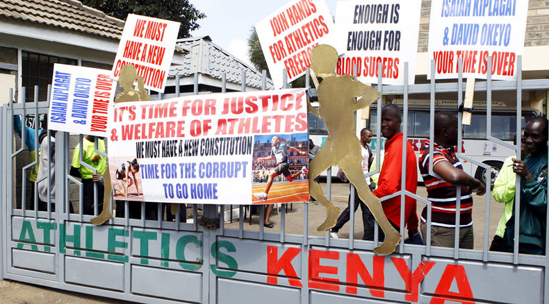 Athletes storm Athletics Kenya HQ in protest against corruption