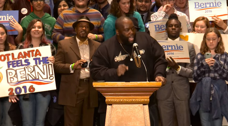 Soul food with Bernie: Killer Mike gives ringing endorsement to Sanders