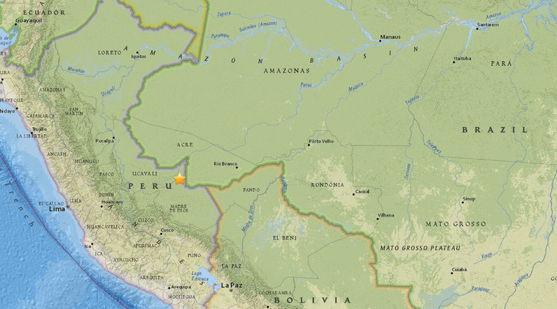 Powerful 7.5 quake jolts Peru-Brazil border