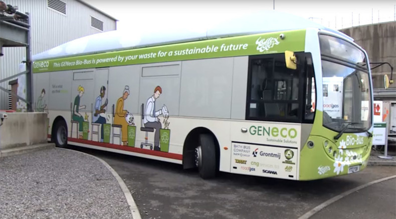 Mind the gas: Poo-powered bus fleet expanded in Bristol