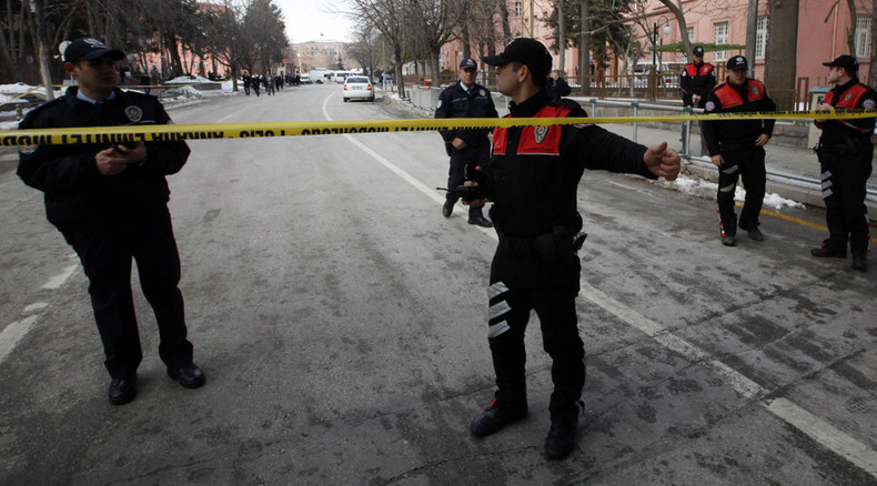 5 reported injured after gas explosions rock Ankara's industrial zone