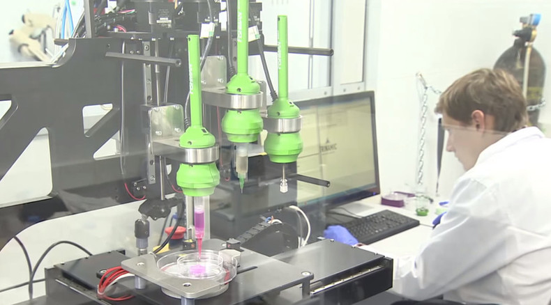 Russian 3D-bioprinted thyroid gland implant proves functional in mice