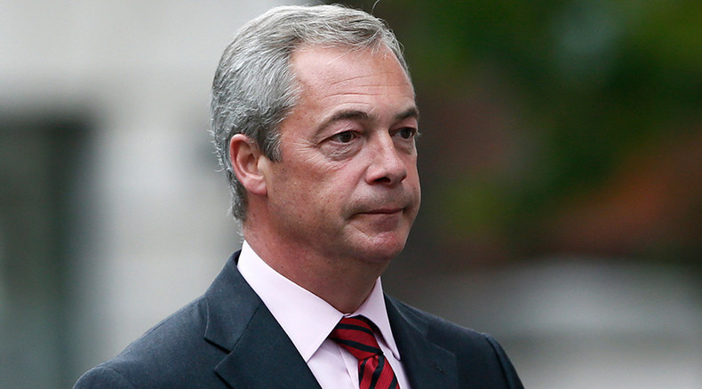 Nigel Farage: 'UK may need to join Putin & Assad to battle ISIS'