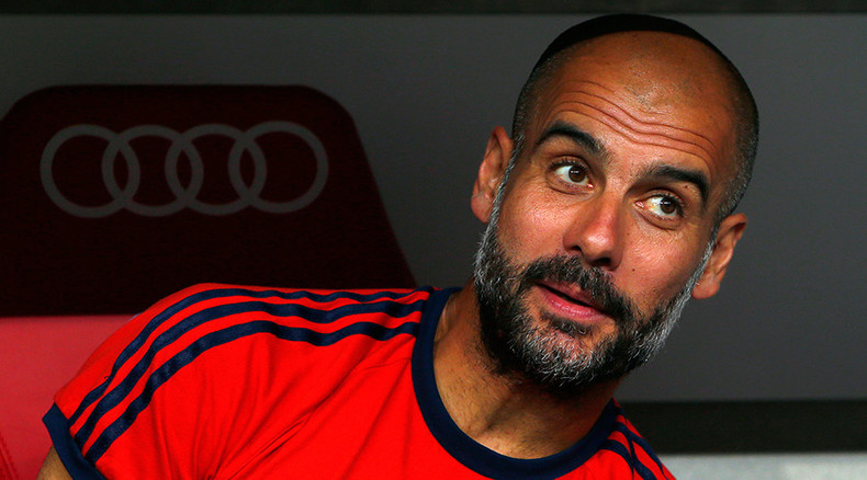 Bayern Munich's Pep Guardiola to manage Manchester City next season - report